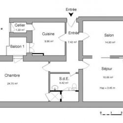 Location Local commercial Sarrebourg 81,31 m²