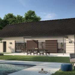 Maison  4 pièces + Terrain  1200 m² Nonancourt