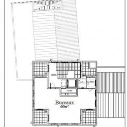 Location Bureau Chessy 70 m²