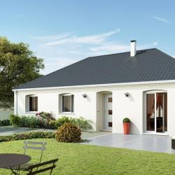 Maison  3 pièces + Terrain  652 m² Vallan