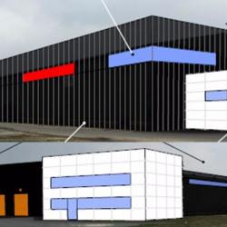 Location Entrepôt Cestas 4400 m²