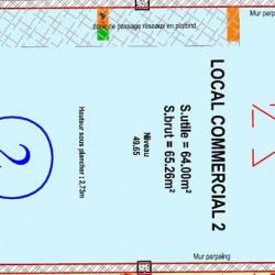 Vente Local commercial Brissac-Quincé 64 m²