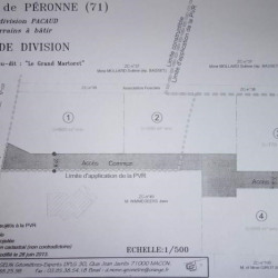 Vente Terrain Péronne 3220 m²