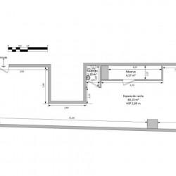 Location Local commercial Avignon 65,74 m²