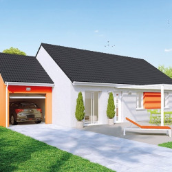 Maison  4 pièces + Terrain  749 m² Blanzy