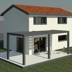 Maison  4 pièces + Terrain  466 m² Liergues (69400)