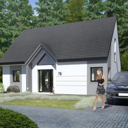 Maison  4 pièces + Terrain  415 m² Calonne-Ricouart