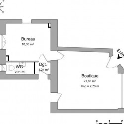 Location Local commercial Sarrebourg 35,6 m²