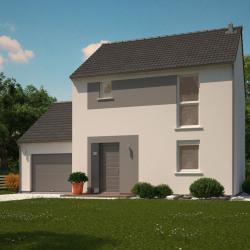 Maison  4 pièces + Terrain  425 m² Sainte-Marie-Aux-Chênes
