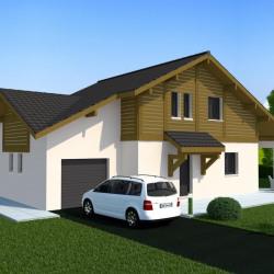 Maison   pièces + Terrain  969 m² Mieussy