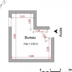 Location Local commercial Verneuil-sur-Seine 15,28 m²