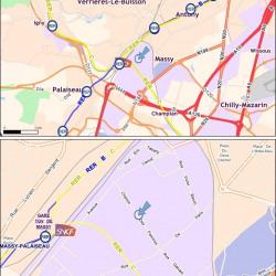 Location Bureau Massy 4053 m²