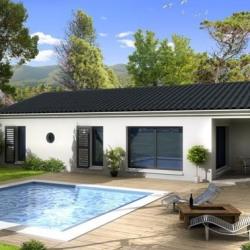 Maison  4 pièces + Terrain   m² St Rambert d Albon