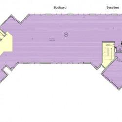 Location Bureau Paris 17ème 954 m²