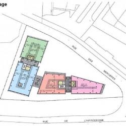 Location Bureau Rillieux-la-Pape 194 m²