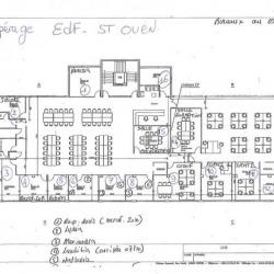 Location Bureau Saint-Ouen 843 m²