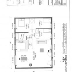 Maison  5 pièces + Terrain  1000 m² Flaucourt