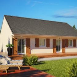 Maison  4 pièces + Terrain  958 m² Gallardon