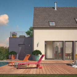 Maison  4 pièces + Terrain  500 m² Colombey-les-Belles