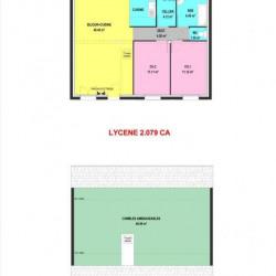 Maison  3 pièces + Terrain  912 m² Béganne