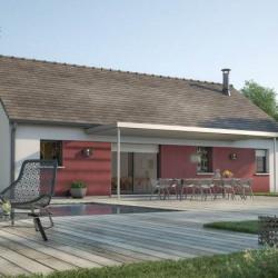 Maison  4 pièces + Terrain  700 m² Berchères-Saint-Germain