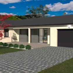 Maison  4 pièces + Terrain  229 m² Pont-Évêque