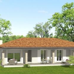 Maison  5 pièces + Terrain  400 m² Sablet