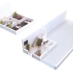 Vente Entrepôt Bailly-Romainvilliers 2095 m²