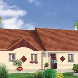 Maison  4 pièces + Terrain  678 m² Chouzy-sur-Cisse