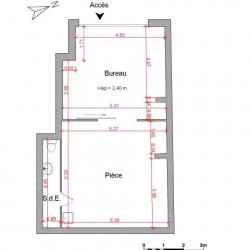 Location Local commercial Fréjus 55,51 m²