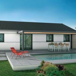 Maison  4 pièces + Terrain  558 m² Sainte-Eulalie-en-Born