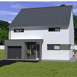 Maison  5 pièces + Terrain   m² La Vicomte-sur-Rance