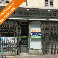 Location Local commercial Toulon 88,6 m²