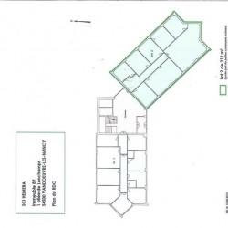 Location Bureau Vandœuvre-lès-Nancy 735 m²