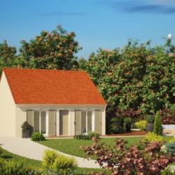 Maison  2 pièces + Terrain  1350 m² Creil