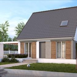 Maison  5 pièces + Terrain  800 m² Saint-Clair-sur-Epte