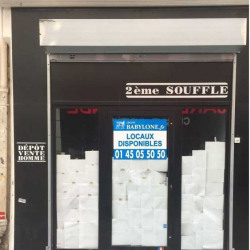 Location Local commercial Paris 2ème 65 m²