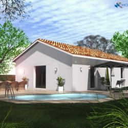 Maison  3 pièces + Terrain  400 m² Anneyron