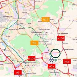 Location Entrepôt Moissy-Cramayel 40845 m²