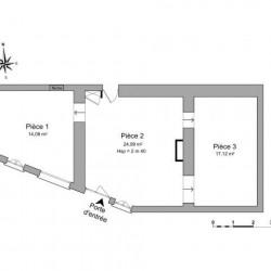 Location Local commercial Trévoux 56,19 m²