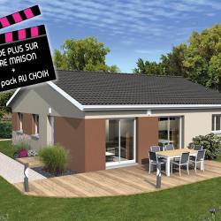 Maison  4 pièces + Terrain  830 m² Crottet