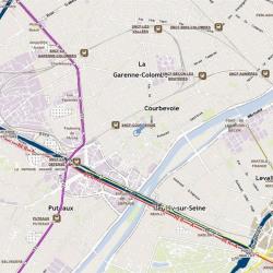 Location Local d'activités Courbevoie 600 m²