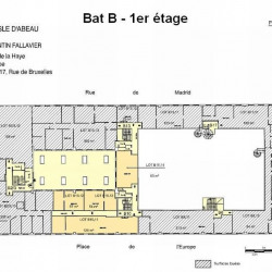 Location Bureau Saint-Quentin-Fallavier 1973 m²