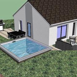 Maison  4 pièces + Terrain  600 m² Nuits St Georges