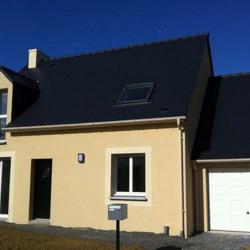 Maison  6 pièces + Terrain  400 m² Saint-Aubin-du-Cormier