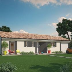 Maison  4 pièces + Terrain  1250 m² Coutras