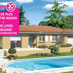 Maison  4 pièces + Terrain  1000 m² Commelle