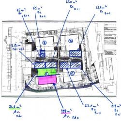 Location Bureau Villeurbanne 1245 m²
