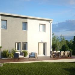 Maison  4 pièces + Terrain  722 m² Saint-Magne-de-Castillon