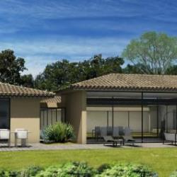 photo maison neuve Saint-Tropez